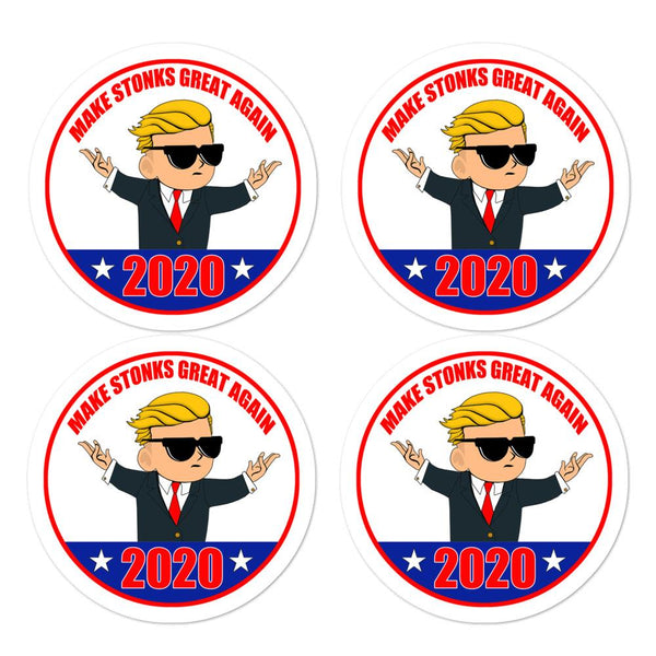 2020 Wsb Kid Campaign Stickers-WallStreetBets-WallStreetBets