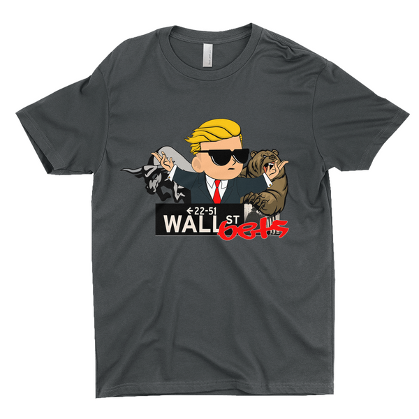 wall street bets meme shirt bulls and bears