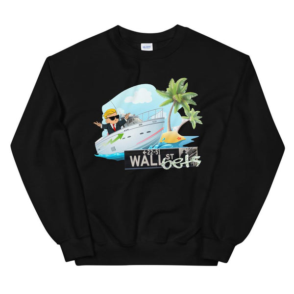 Lil Yachty Wallstreetbets Kid Sweater-WallStreetBets-Black-S-WallStreetBets