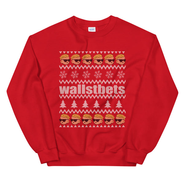 best classic ugly sweater wall st bets gift idea trader