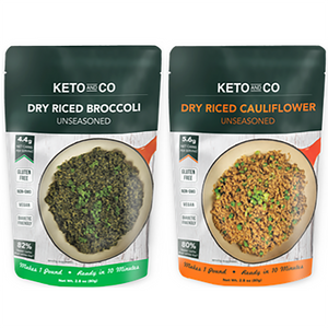 Keto Dry Riced Vegetables