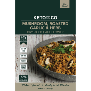 Closeout: Keto Seasoned Dry Riced Cauliflower