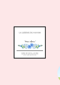 La lessive de maman « bougie collection douce enfance »