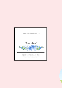 Le nougat de tata « bougie collection douce enfance »