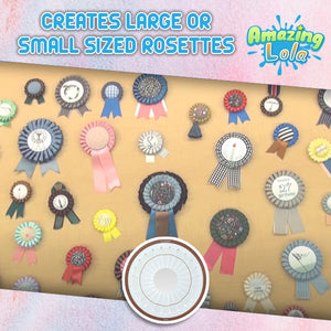 DIY Rosette Brooch Kit