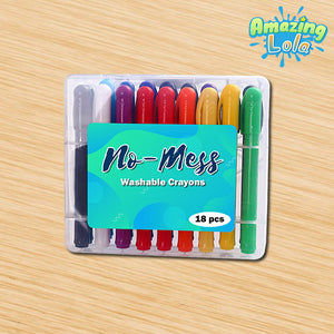 No-Mess Washable Crayons