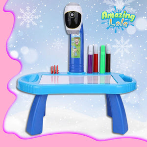 DoodleTime Kiddie Drawing Projector Board