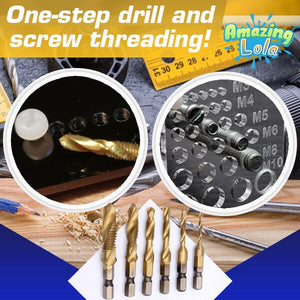 DrillTap Screw Threader Bits