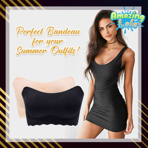 Icy Seamless Silk Bandeau