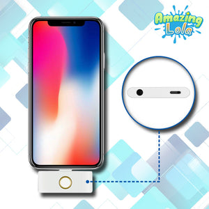 External HOME Button and Dual Port Adapter