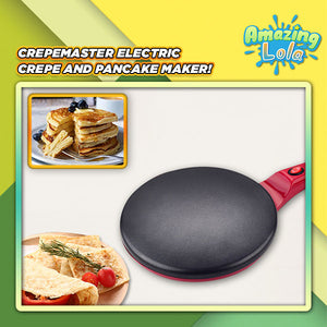 CrepeMaster Electric Crepe & Pancake Maker