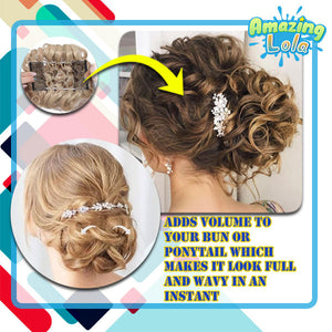 One-Click Instant Curly Bun