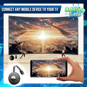 Smart Wireless Screen-To-TV Dongle