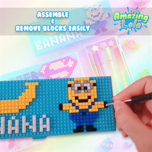 BrickLoader Customizable Pen Case