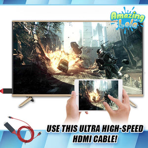 Ultra High-Speed Phone-to-TV HDMI Cable