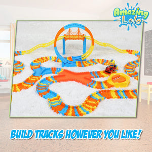 Fun 'n Thrill Roller Coaster Track Set