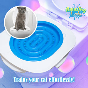 Cat Litter Tray Toilet Trainer