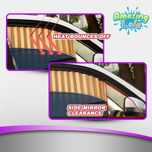 Retractable Magnetic Car Sunshade
