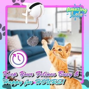 Yank-n-Dangle Interactive Cat Toy