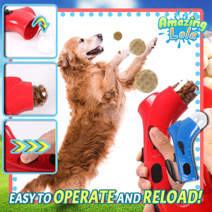 Pet Treat Launching Obedience Catapult