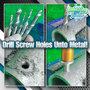 Screw Tap Drill Bit (6 Pcs)