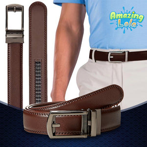 PerfectFit Click-On Leather Belt