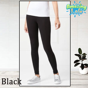 Fleece-Lined Thermal Compression Leggings