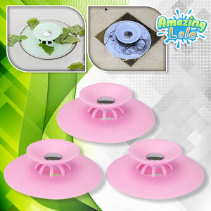 2-in-1 Silicone Sink Straining Stopper
