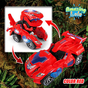Speedthesaurus - The T-rex Transforming Toy Car