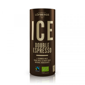 Löfbergs ICE Double Espresso ORGANIC & FAIRTRADE 4x230ml - Organic Goods Marketplace