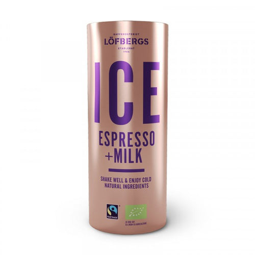 Löfbergs ICE Espresso & Milk ORGANIC & FAIRTRADE 4x230ml - Organic Goods Marketplace