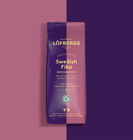 Löfbergs Medium Roast Ground Coffee 1x250g - Organic Goods Marketplace