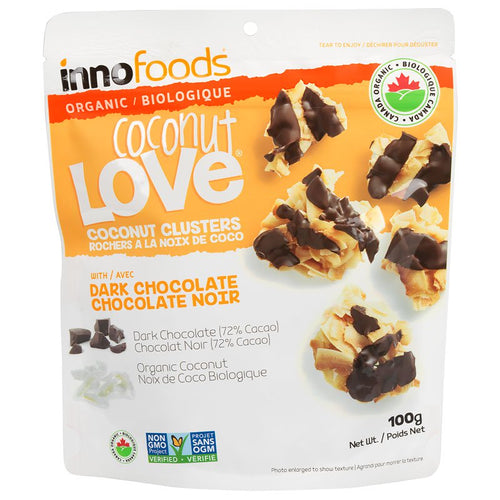 Coconut Love ORGANIC, VEGAN & GLUTEN-FREE Dark Chocolate 1x100g - Organic Goods Marketplace