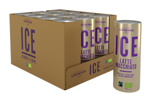 Löfbergs ICE Latte Macchiato ORGANIC & FAIRTRADE 4x230ml - Organic Goods Marketplace