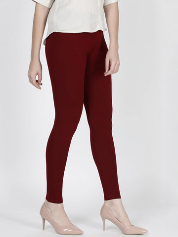 Women's Soft Cotton Lycra Fabric Leggings