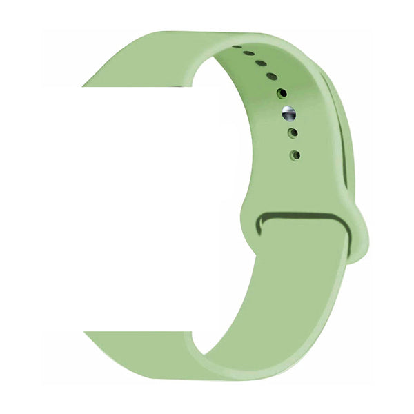 Silicone Sports Watch Strap for Apple Watch Series 5/4/3/2/1 (Mint Green)