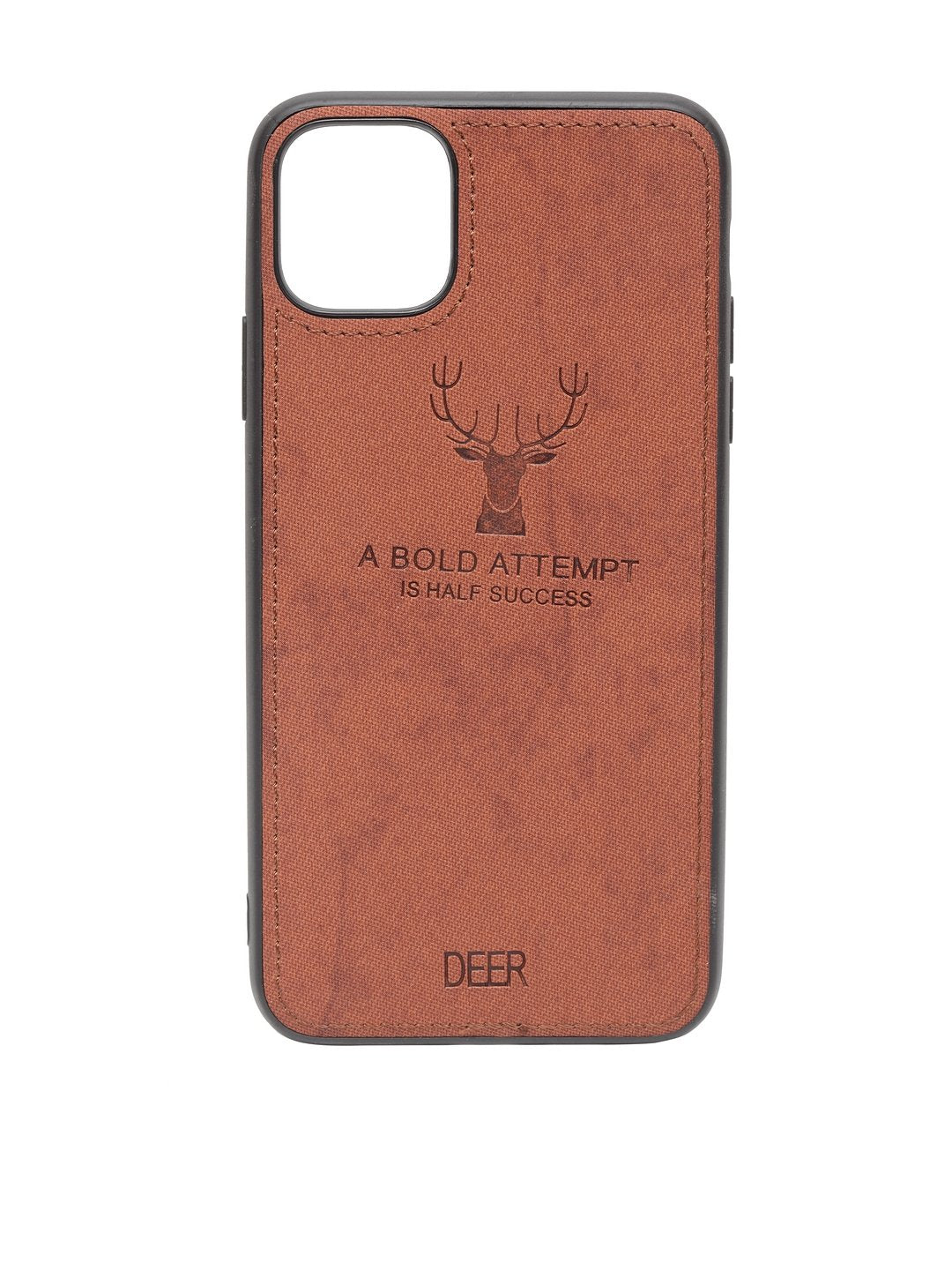 iPhone 11 Cloth Texture Deer Case
