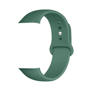 Silicone Sports Watch Strap for Apple Watch Series 5/4/3/2/1 (Light Pine)