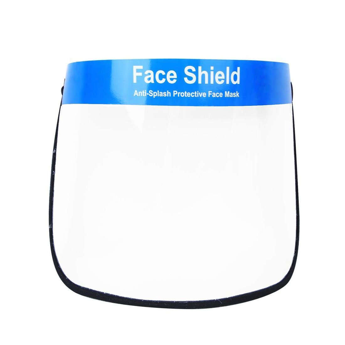 Transparent Full Face Protective Visor with Eye & Head Protection Shield
