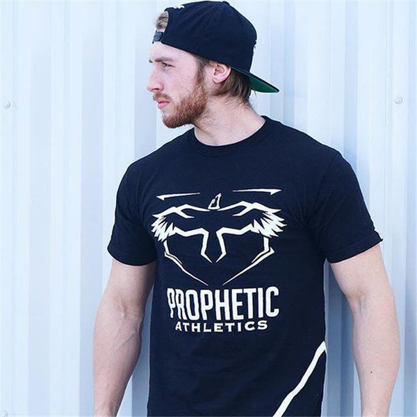 New Mens cotton Short sleeve Gym T-shirt Fitness workout shirts Men Casual Fashion Slim O-Neck Tees Tops clothing