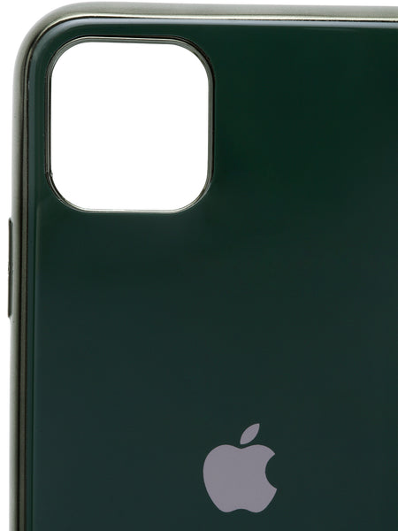 iPhone 11 / Pro / ProMax Green Glossy Hard Case Mobile Case