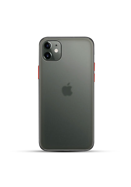 iPhone 11 Black Matte Mobile Case For iPhone 11 / 11 Pro / 11 Pro Max