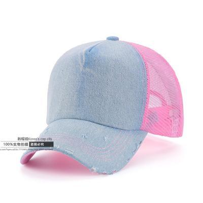 60 Colors Adult Summer Mesh Trucker Caps Men Hip hop Punk Rock Snapback Hat Women Curved Baseball Cap