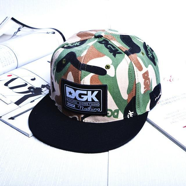 A Hip-hop Cap chance The rapper Cloth Paste Camouflage Male Ma'am Baseball Hats bone snapback casquette gorra cotton