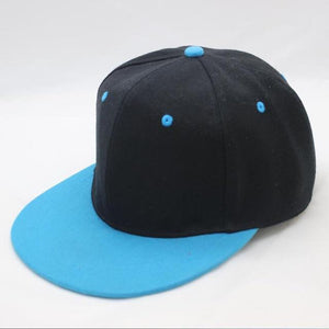 Snapback Baseball Cap For Women Men Couple Hip Hop Hat Simple Colors Double Layer Bone Cotton Cap Summer
