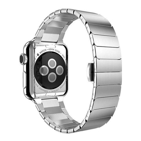 Apple watch band iwatch 4 3 42mm 38mm 44mm/40mm Stainless steel apple watch 4 3 correa Link bracelet belt