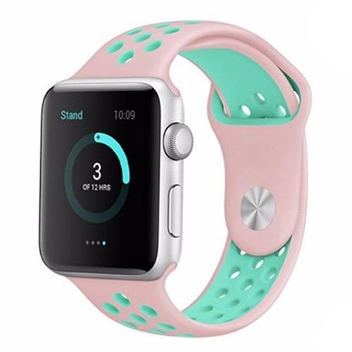 New Strap for Apple Watch band 4 3 iwatch band 38mm 42mm 44mm 40mm Watch Strap Nike Sport Silicone Bracelet Watchband correa