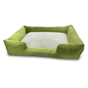 Premium Quality Super Soft Dog Bed Green