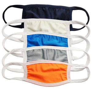 Anti-Pollution Lycra Face Mask For Protection (Pack of Assorted 5 Colours)