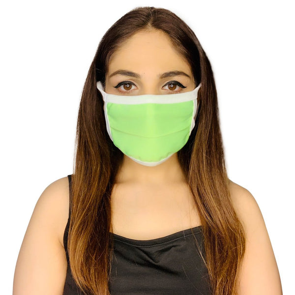 New Anti-Pollution Mouth Nose Lycra Cover Face Mask For Protection (Pack of 5)